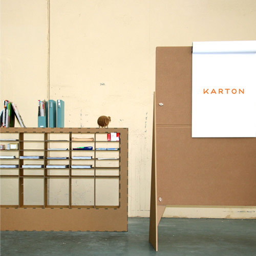 karton cardboard easel cardboard sorter Your Karton Cardboard Office