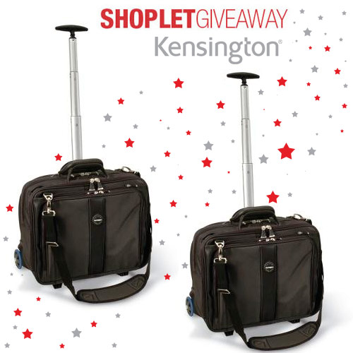 kensington rolling case giveaway Two Kensington Roller Laptop Cases to Win!