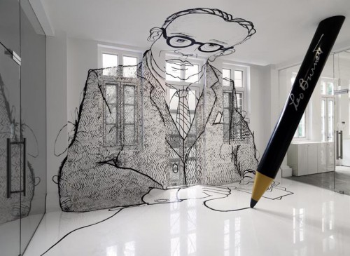 leo burnett giant pencil 500x365 best of office weekend roundup 61