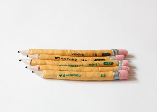 megan whitmarsh fabric pencils Megan Whitmarshs Fabric School Supplies