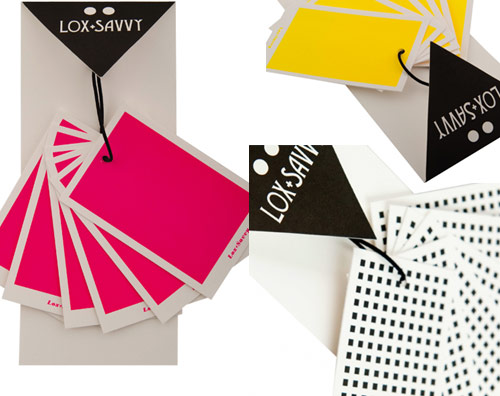neon gift tags lox & savvy office goodies