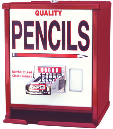 pencil vending machine best of office weekend roundup 64