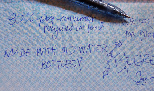 pilot water bottle pen review 2 Your Pen Was Once a Water Bottle