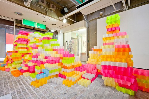 post it notes art 500x333 best of office weekend roundup 63