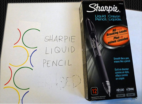 sharpie liquid pencil review Sharpie Liquid Pencil Reviews