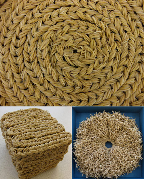 braided rubber bands Brown Rubber Band Artwork
