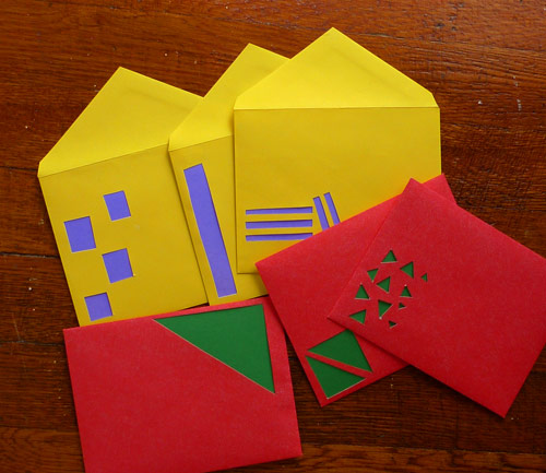 diy envelope windows 2 Give Your  Envelopes Windows