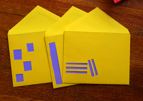 diy envelope windows Give Your  Envelopes Windows