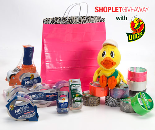 duck tape giveaway Massive Duck Brand Tape Giveaway!