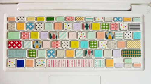 patterned keyboard 500x280 best of office weekend roundup 69