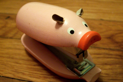 piggy stapler best of office weekend roundup 67