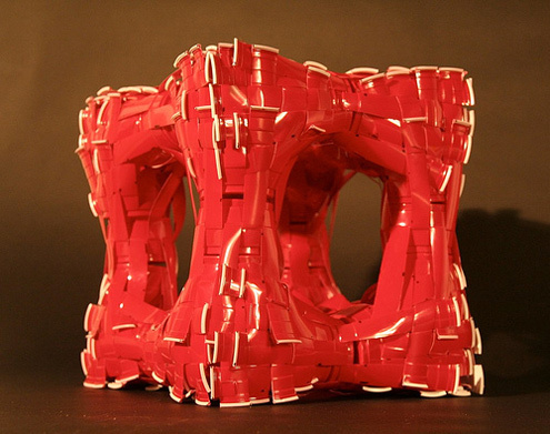 plastic red cup sculptures best of office weekend roundup 68