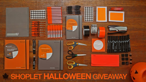 shoplet orange and black halloween giveaway Orange and Black Halloween Giveaway!