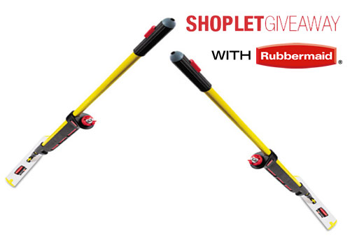 shoplet rubbermaid mop giveway Win a Rubbermaid Pulse Mopping Kit!