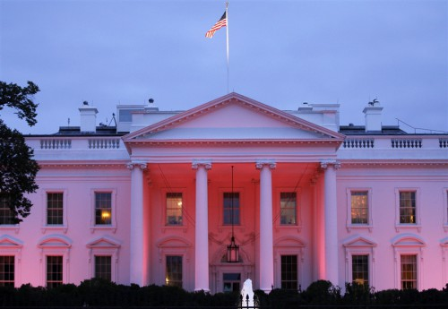 white house national breast cancer awareness month 500x345 best of office weekend roundup 67