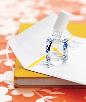 clear nail polish to seal envelopes best of office weekend roundup 72