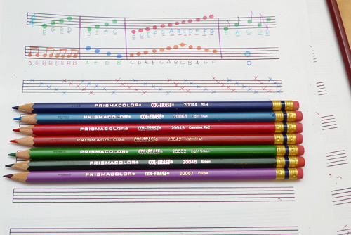col erase review Prismacolor Col Erase Colored Pencils