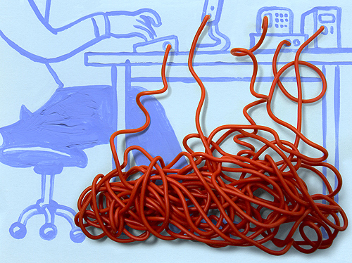electrical cord comic Your Cords Can Be Art Supplies
