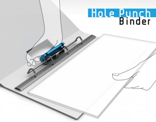 hole punch binder 500x391 best of office weekend roundup 72