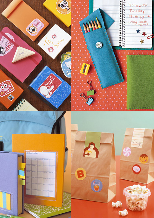 martha stewart back to school supplies 2 Reorganize for School with Martha Stewart