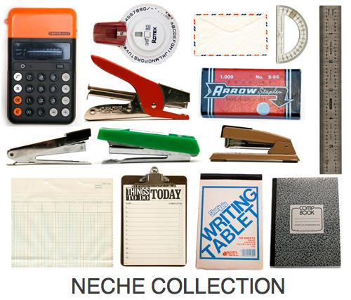 neche collection vintage office supplies Prints Inspired by the Neche Collection