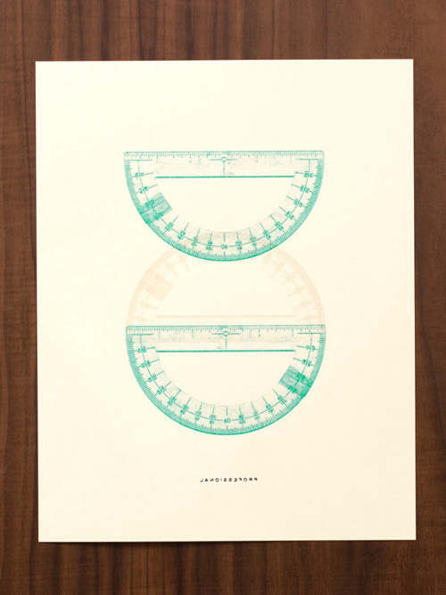 protractor print Prints Inspired by the Neche Collection