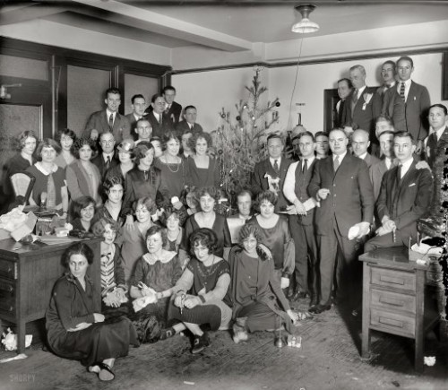 1900s christmas party 500x435 best of office weekend roundup 74
