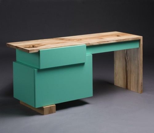furn reclaimeddesk3 500x431 best of office weekend roundup 75