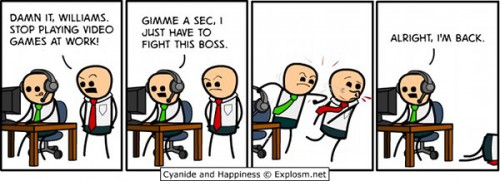 games at work comic strip 500x181 best of office weekend roundup 76