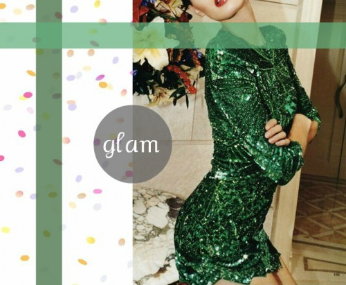 glam inspiration 1 1 500x411 The Holiday Office Party Outfit   Wear Green!