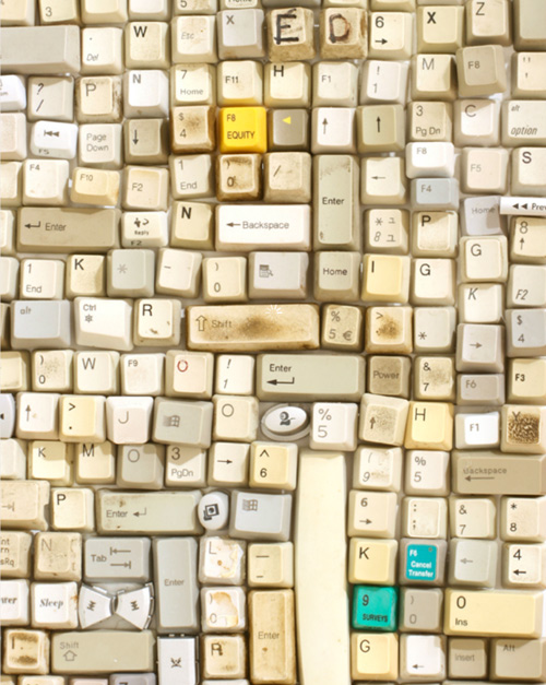 sarah frost qwerty Sarah Frost Resuses Old Computer Parts