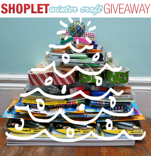 Shoplet Winter Craft Giveaway