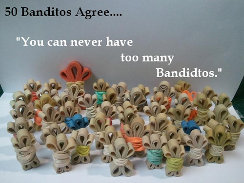 banditos 4 Little Rubber Band Banditos