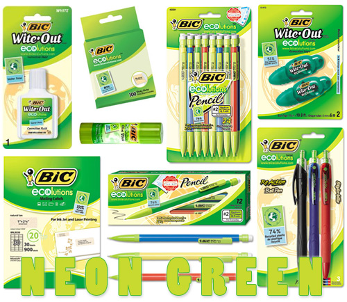 bic-ecolutions-neon-green