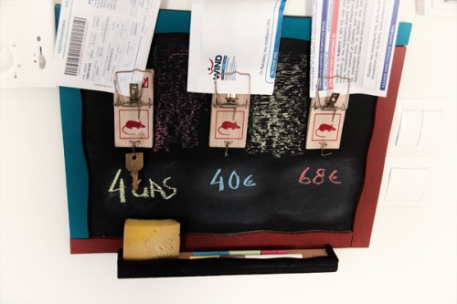 chalkboard mousetrap organizer 500x333 best of office weekend roundup 82