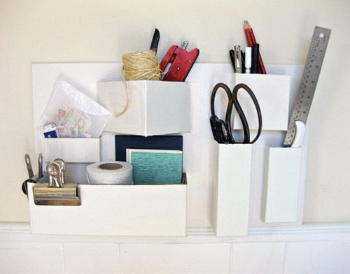 diy cardboard organizer best of office weekend roundup 79