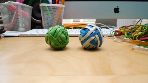 mini rubber band ball Make Mini Rubber Band Balls