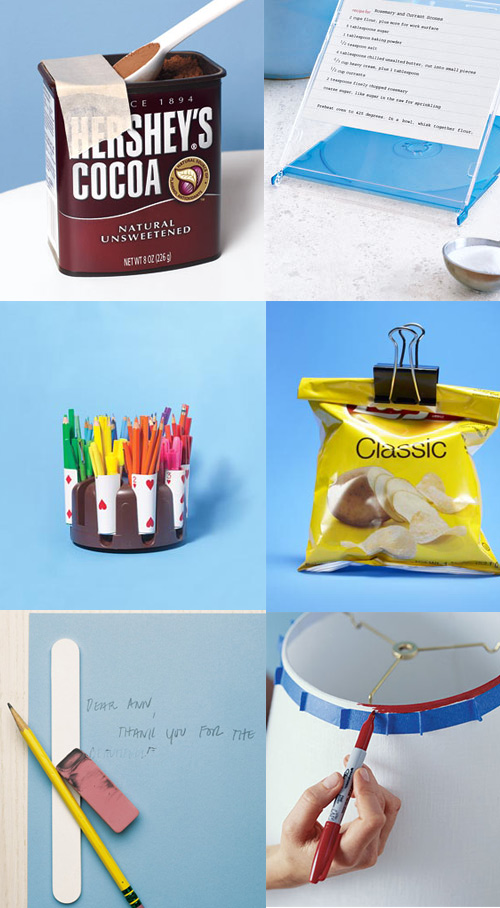 new uses for office supplies Real Simple   Another Round of New Uses