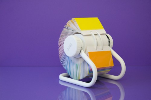 rolling rainbow rolodex 500x333 best of office weekend roundup 82
