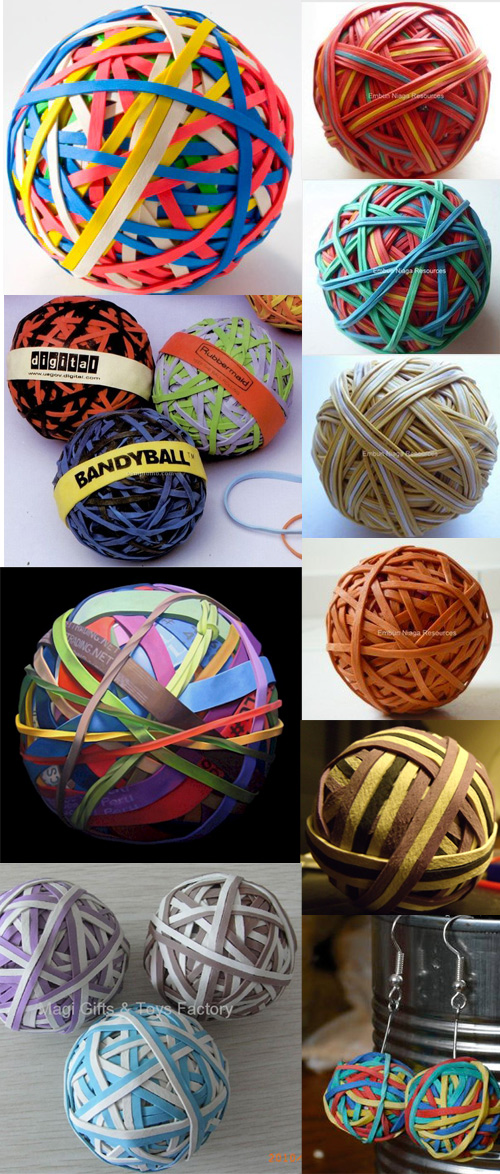 rubber band ball designs The Worlds Largest Rubber Band Ball