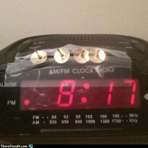 thumb tack alarm clock 500x500 best of office weekend roundup 81