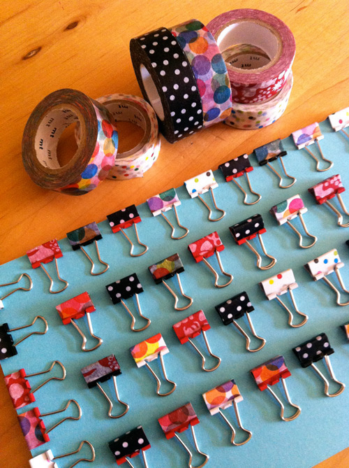 washi tape binder clips best of office weekend roundup 79