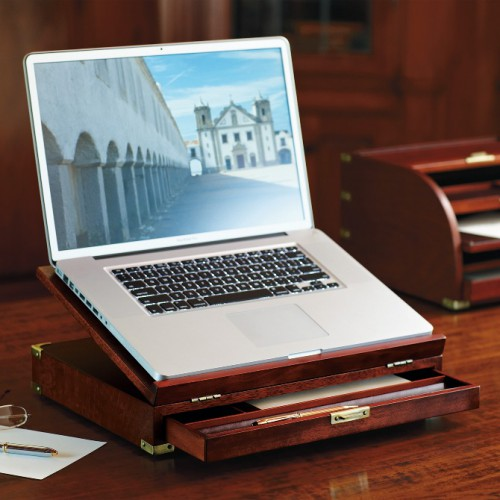 wooden laptop stand 500x500 best of office weekend roundup 79
