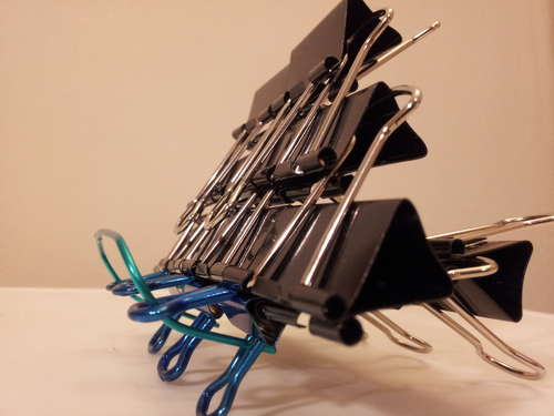 Binder Clip Stand for a Tablet or iPad or anyth best of office weekend roundup 86