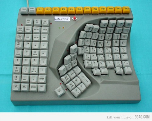 curved keyboard 500x397 Cool Keyboards