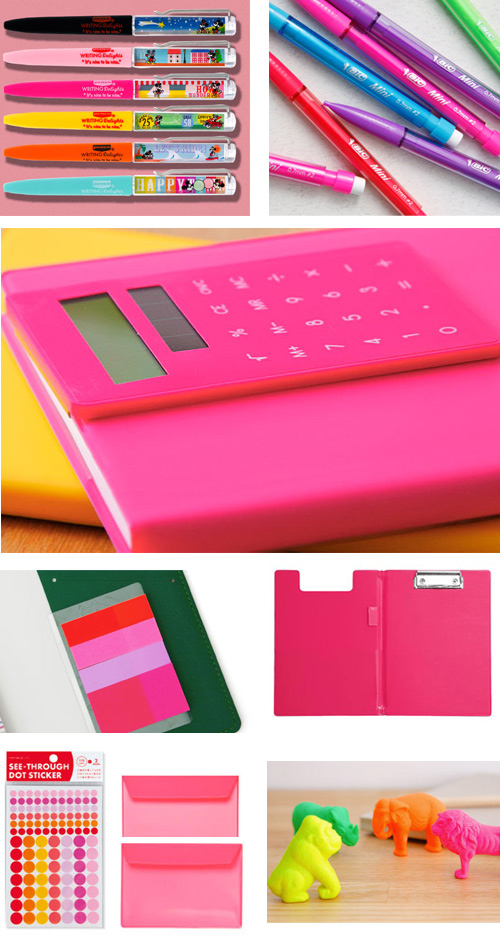 hot pink high tide HIGHTIDE Office Supplies Part 3