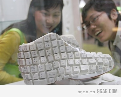 keyboard shoes Cool Keyboards
