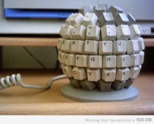 keyboard sphere 500x403 Cool Keyboards