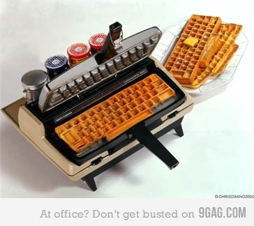 keyboard waffles Cool Keyboards