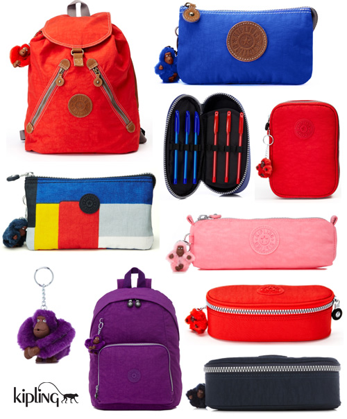 kipling backpacks pencil cases Kipling Pencil Cases and Backpacks
